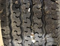 TIRE NEW TAKE OFF265/75/16 GOODYEAR WRANGL T/D