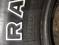 265/75/16 TIRE WIDETRACK RADIAL BAJA