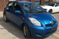 2011 TOYOTA YARIS LOW KM! CERTIFIED!