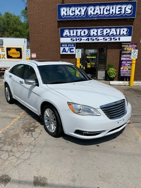 2014 CHRYSLER 200 LIMITED CERTIFIED – SALE!