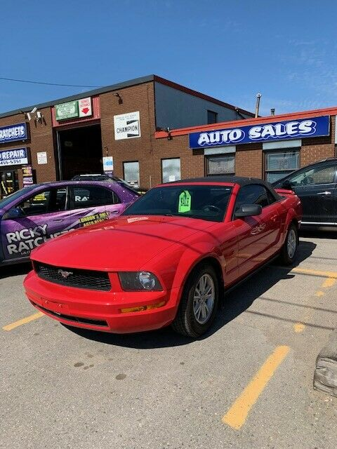 2006 FORD MUSTANG CONVERTIBLE CERTIFIED