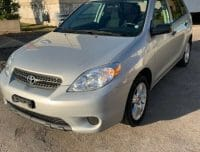 2005 TOYOTA MATRIX CERTIFIED