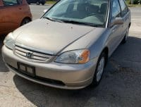 2002 HONDA CIVIC LX AS IS