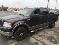 2006 FORD F-150 XLT 4X4 NICE RIMS AS IS