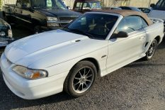 WHO WANTS A 1998 GT MUSTANG CONVERTIBLE RUST FREE CHEAP