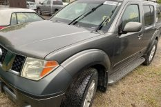 4X4 NISSAN PATHFINDER 2005 CHEAP